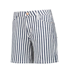 Blauwe short Jane Stripe