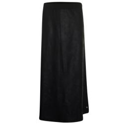 Zwarte plain rok 33159