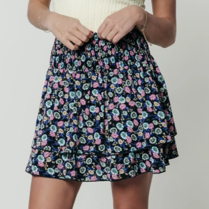 Multicolor rok Daphne Flower Two Layer