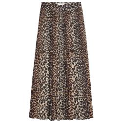 Bruine rok Wild Leopard