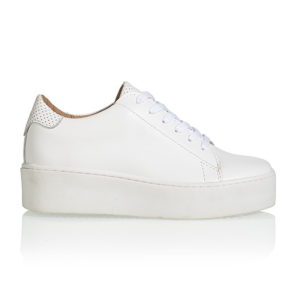 Witte sneaker Mali Perfo