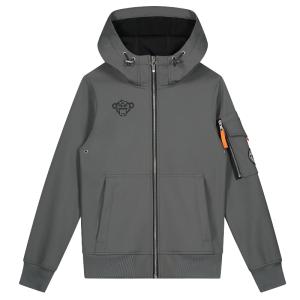 Grijze softshell jacket Jr.