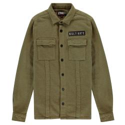Olijfgroen shirt Soldier