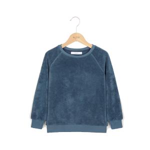 Blauwe sweater Teddy Organic
