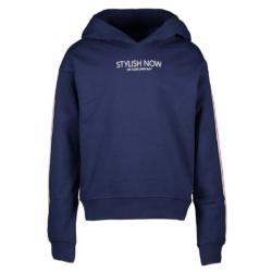 Donkerblauwe hoodie Carsy