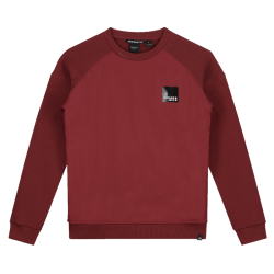 Rode sweater Monzo