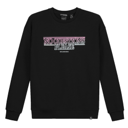 Zwarte sweater No Questions