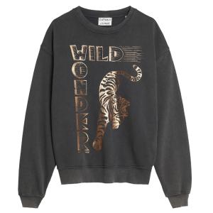 Donkergrijze sweater Wild