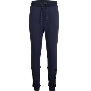 Donkerblauwe joggingbroek Basic Zip