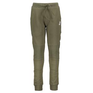 Groene joggingbroek Kneepatch