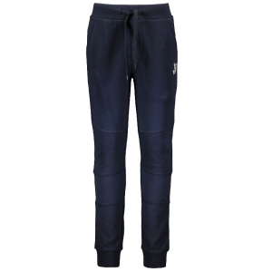 Donkerblauwe joggingbroek Kneepatch