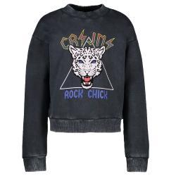 Zwarte sweater Roya - 116
