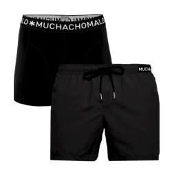 Zwarte swimshort Solid - XL