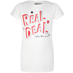 Wit t-shirt Real Deal