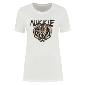 Wit t-shirt NIKKIE Tiger