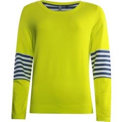 Gele sweater Contrast