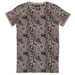 Grijs t-shirt Pop Rock 004