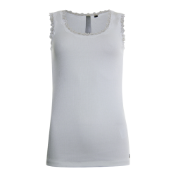 Witte singlet lace top 13169