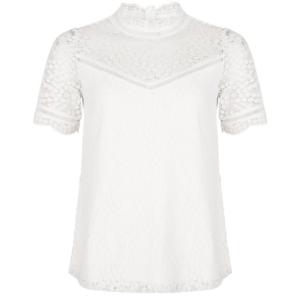 Witte top Fancy Lace