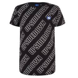 Zwart t-shirt Upsidedown - 116