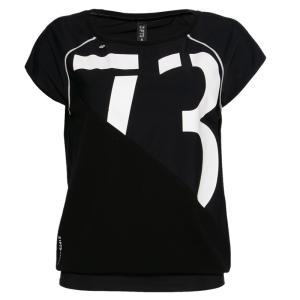 Zwart met witte 73 top