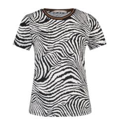 Geprint shirt Alicia Zebra