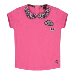 Roze t-shirt Bloom