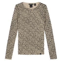 Beige top Jolie Leopard - 116