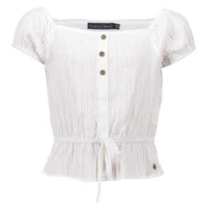 Witte blouse Stacey
