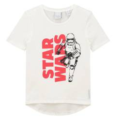 Wit t-shirt Starwars - 176