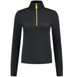 Zwarte top Suzy Zipper