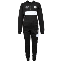 Zwarte tracksuit High Collar