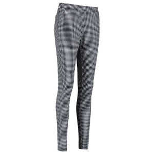Wit geprinte broek Pascal Small Check