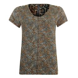 Geprint t-shirt 13202