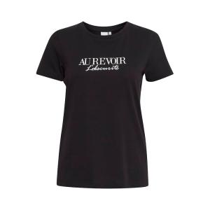 Zwart t-shirt Runela