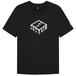 Zwart t-shirt 3D Box Logo