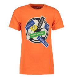 Oranje t-shirt Football