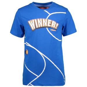 Blauw t-shirt Winner
