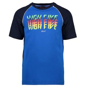 Donkerblauw t-shirt High Five