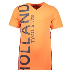 Oranje t-shirt Holland 6442 - 92