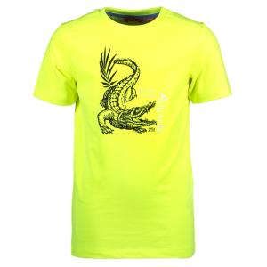 Geel t-shirt Crocodile