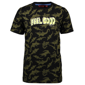 Zwart t-shirt AO Crododile