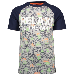Grijs t-shirt Relax to the Max - 92