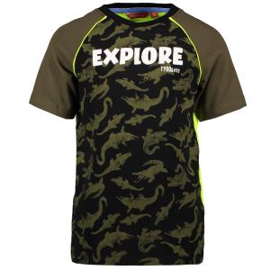 Groen t-shirt AO Crocodile Explore