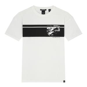 Wit t-shirt Adrik