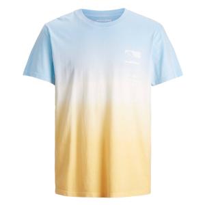 Blauw met geel t-shirt Alooha