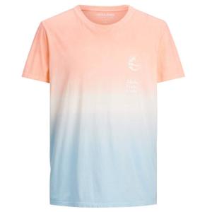 Blauw geprint t-shirt Alooha