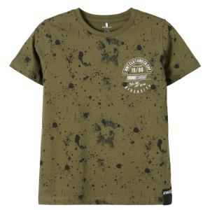 Groen t-shirt Bachir