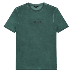 Groen t-shirt Barbed Logo