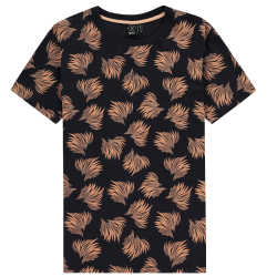 Donkerblauw t-shirt Bush